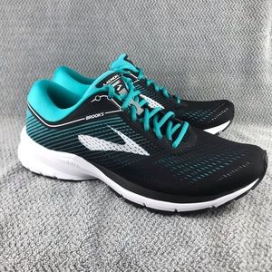 Brooks Launch 5 Black Teal Green Women Running
